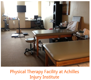 Physical Therapy Facility at Achilles Injury Institute